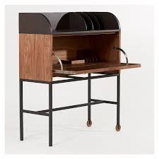 bureau en acier bureau shaker noyer acier the conran shop