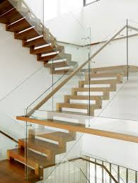 Glass Stair Rail modern staircase design for your home modern stairs bass and