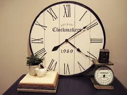 Neat Clocks by Rustic Extra Large Square Gold Wall Clock Decofurnish