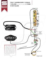 wiring diagrams seymour duncan tele hum single w coil split