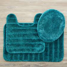 Mohawk Bathroom Rugs Mohawk Veranda Bath Rug Teal Set 352577 The Home Depot