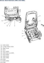 2007 yukon front seat wiring diagram wiring diagram for chevy