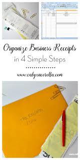 organize business receipts in 4 simple steps calyx u0026 corolla