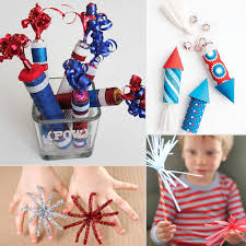 fourth of july fireworks crafts for kids popsugar moms