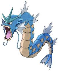 gyarados from pokémon game art