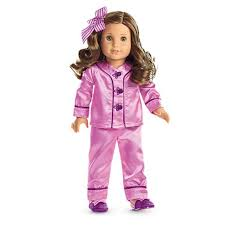 s satin pajamas for 18 inch dolls american