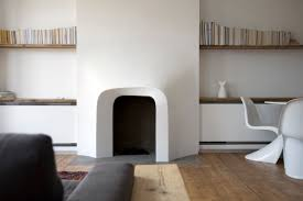 focal shift fireplace by scenario architecture london uk