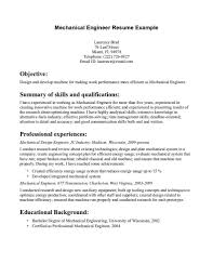 download disney mechanical engineer sample resume