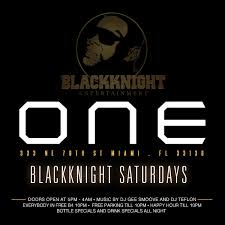 one gentlemens club presents blackknight saturday tickets
