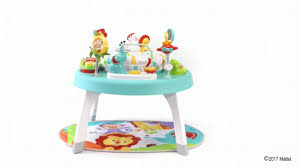 sit to stand activity table fisher price 3 in 1 sit to stand activity center youtube