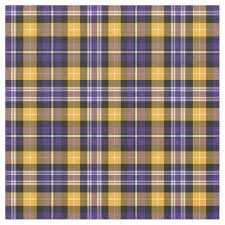 purple and yellow gold sporty plaid fabric zazzle