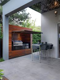 backyard bbq designs patio contemporary with built in cabinets