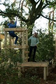 Backyard Zip Line Ideas Zip Line Platform Outdoor Play Pinterest Treehouse Backyard