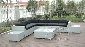 canapé d angle en palette canape d exterieur 9 pcs patio en rotin extacrieur canapac uv