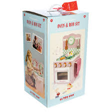 Toy Kitchen Set Wooden Le Toy Van Honeyhome Wooden Play Kitchen Oven U0026 Hob Set Cuckooland