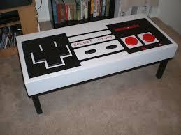 Nintendo Controller Coffee Table Mortys Art Work Nintendo Coffee Table