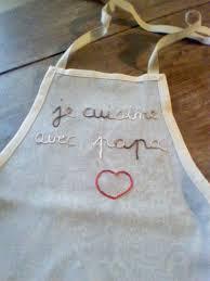 tablier cuisine pour enfant tablier de cuisine pour enfant céline création couture