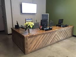 unique office furniture desks unique reception desk home design