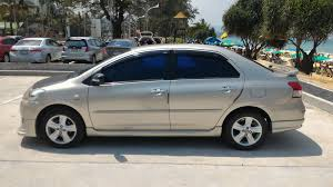 toyota vios toyota vios 2009 e for sale cars for sale in thailand