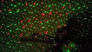 star shower laser christmas light decoration youtube