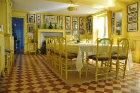 top giverny monet s yellow dining room home interior