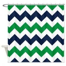 Navy And Green Curtains Navy Blue Shower Curtains Foter