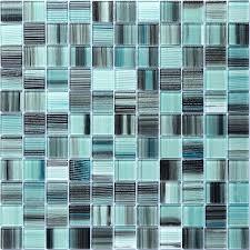 glass tiles blue glass mosaic tile backsplash glass tile tile the home depot