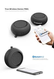 android bluetooth speaker tronsmart element splash bluetooth speaker black