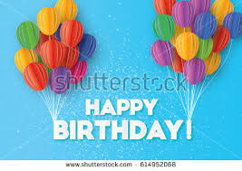 free happy birthday greeting card download free vector art