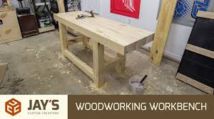 Plans For Building A Wood Workbench by Build A Woodworking Workbench For 110 Usd Youtube