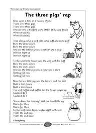 pigs rap abc literacy fairy