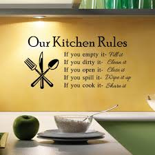 wall stickers big fork and spoon vinyl wall decal decor household new hot diy kitchen rules quote wall sticker creative decals decal home household decor stickers words wall stickers for kids bedrooms wall stickers for
