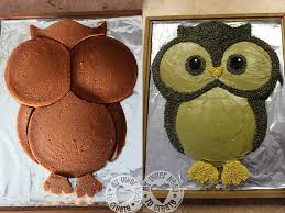 owl cake diy owl cake
