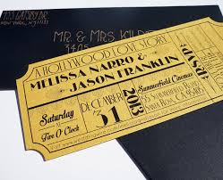 ticket wedding invitations ticket wedding invitations tolg jcmanagement co