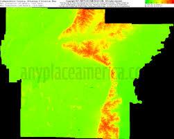 Arkansas Map Us Free Independence County Arkansas Topo Maps U0026 Elevations