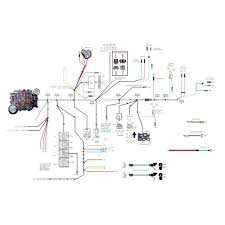 Wiring Diagram For Mustang American Autowire 510125 Mustang Comp Wiring Classic Kit 1965 1966