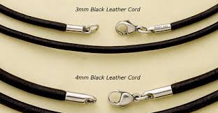 necklace leather cords images Leather cord james avery jpg