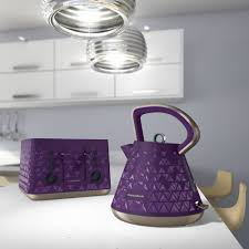 Morphy Richards Plum Kitchen Accessories Morphy Richards Prism Kettle Purple By Palmers Department Store