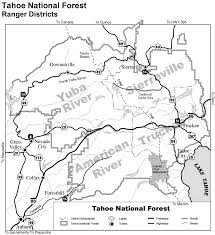 Rubicon Trail Map Maps And Guides The American River
