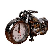 Unique Desk Clocks Amazon Com Towallmark Luxury Retro Style Motorcycle Alarm Clock