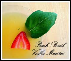 martini basil peach basil vodka martini the heart u0027s delight