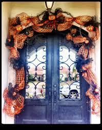 halloween skeleton door decorations