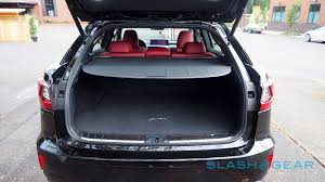 lexus nx interior trunk 2016 lexus rx first drive u2013 best seller goes bold slashgear