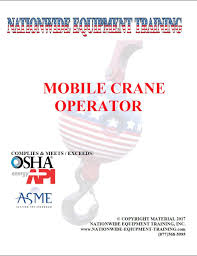 mobile crane operator study material don childers 9780615931715