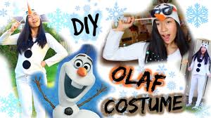 halloween costumes for frozen diy olaf costume for halloween frozen costume youtube