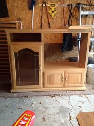 Diy Play Kitchen From Entertainment Center Tending The Home Fires Diy Repurposed Play Kitchen