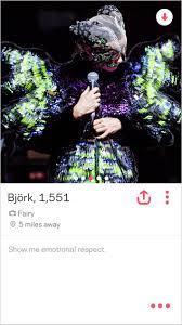 Tinder For Real Estate Björk Says New Album Is Her U0027tinder Album U0027