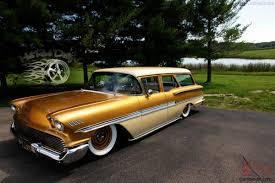 bagged subaru wagon brookwood bagged custom station wagon chevy rat rod street rod