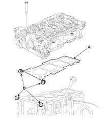 kia sorento cylinder head installation cylinder head assembly