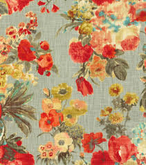 Home Upholstery Home Decor Print Fabric Hgtv Home Garden Odyssey Fog Joann